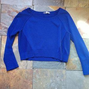 Athleta cropped wool blend ballerina sweater